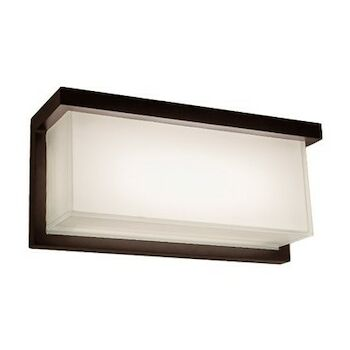 LEDGE 12-INCH 3000K LED WALL SCONCE LIGHT, WS-W1412, Bronze, large