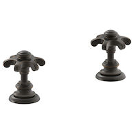 ARTIFACTS(R) DECK-MOUNT BATH PRONG HANDLE TRIM, Oil-Rubbed Bronze, medium