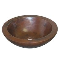 LAGUNA 16-INCH ROUND BATHROOM SINK, CPS55, Antique Copper, medium