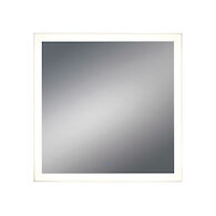 32X32-INCH SQUARE EDGELIT MIRROR WITH 3000K LED LIGHT AND TOUCH SENSOR SWITCH, 31482, Silver, medium