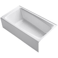 MENDOTA® 60 X 32 INCHES ALCOVE BATHTUB WITH INTEGRAL APRON AND RIGHT-HAND DRAIN, White, medium