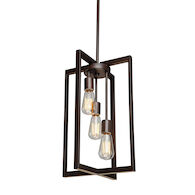 GASTOWN 3-LIGHT CHANDELIER, Oil Rubbed Bronze, medium