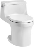 SAN SOUCI® ONE-PIECE ROUND-FRONT 1.28 GPF TOILET WITH AQUAPISTON® FLUSHING TECHNOLOGY, White, medium