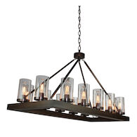 JASPER PARK 14-LIGHT ISLAND LIGHT, Brunito Bronze, medium