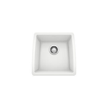 PERFORMA UNDERMOUNT BAR SINK, White, large