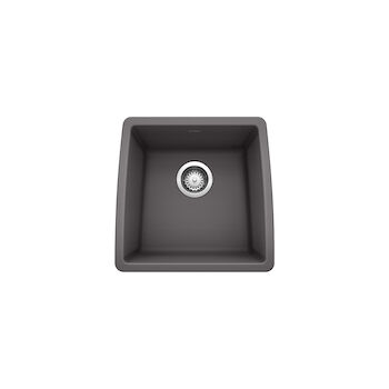 PERFORMA UNDERMOUNT BAR SINK, Cinder, large