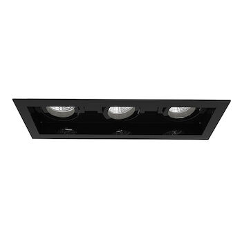 AMIGO 3-LIGHT 3000K LED RECESSED LIGHT, 31766-30, Black, large