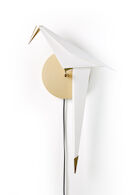 PERCH SMALL WALL LIGHT, Brass, medium