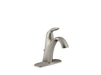 ALTEO(R) SINGLE-HANDLE BATHROOM SINK FAUCET, Vibrant Brushed Nickel, large