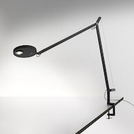 DEMETRA PRO 3000K LED TABLE LAMP WITH CLAMP, DEMPTC30K, Matte Black, medium