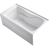 HOURGLASS® 60 X 32 INCHES ALCOVE BATHTUB WITH INTEGRAL APRON AND INTEGRAL FLANGE, RIGHT-HAND DRAIN, White, medium