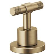 LITZE WIDESPREAD HANDLE KIT - T-LEVER, Luxe Gold, medium