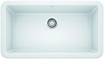 IKON 33 APRON SINK, White, large
