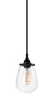 CHELSEA PENDANT, Satin Black, medium