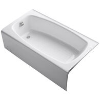 DYNAMETRIC® 60 X 32 INCHES ALCOVE BATHTUB WITH LEFT-HAND DRAIN, White, medium