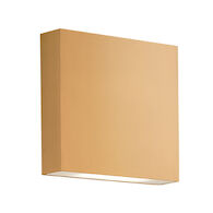 MICA WALL SCONCE, Gold, medium