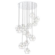 NORWAY 41-INCH ROUND CHANDELIER, 35904, Chrome, medium