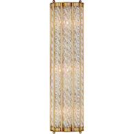 AERIN EATON 3-LIGHT 6-INCH WALL SCONCE LIGHT, Hand-Rubbed Antique Brass, medium