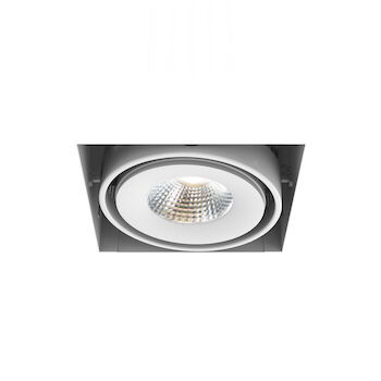 1-LIGHT TRIMLESS 4000K LED MULTIPLE RECESS WITH 40 DEGREES BEAM ANGLE, TE611LED-40-4, White, large