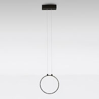 ECLITTICA 20 3000K LED PENDANT LIGHT, DDEC0100, Black, medium