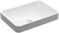 VOX® RECTANGLE VESSEL BATHROOM SINK, White, medium