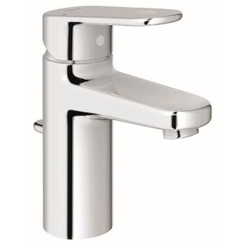 EUROPLUS BATHROOM SINK FAUCET, StarLight Chrome, large