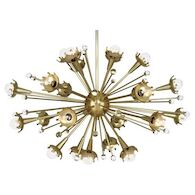 JONATHAN ADLER SPUTNIK CHANDELIER, 710, Antique Brass, medium