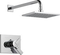 DELTA VERO MONITOR 17 SERIES SHOWER TRIM, Chrome, medium