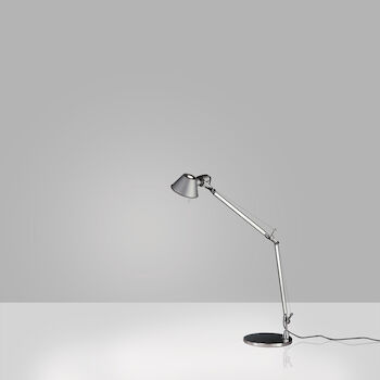 TOLOMEO MINI TABLE LAMP WITH BASE, Aluminum, large