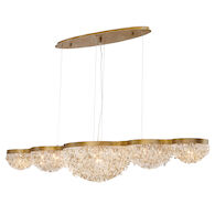 MONDO 59-INCH LINEAR CHANDELIER, 31831, Antique Gold, medium