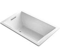 UNDERSCORE® RECTANGLE 60 X 36 INCHES DROP IN BATHTUB, White, medium