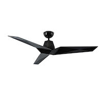 VORTEX 60-INCH CEILING FAN, Gloss Black, medium