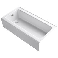 BELLWETHER® 60 X 30 INCHES ALCOVE BATHTUB WITH INTEGRAL APRON, LEFT-HAND DRAIN, White, medium
