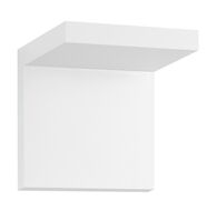 BRACKET LED SCONCE, Textured White, medium