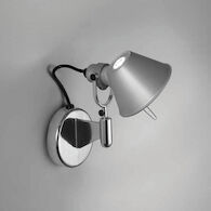 TOLOMEO CLASSIC LED WALL SPOT LIGHT WITHOUT SWITCH, Aluminum, medium
