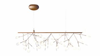 HERACLEUM ENDLESS SUSPENSION, Copper, large