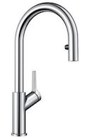 URBENA DUAL SPRAY PULL DOWN FAUCET, Chrome, medium