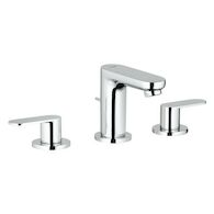 EUROSMART COSMOPOLITAN WIDESPREAD BATHROOM SINK FAUCET, StarLight Chrome, medium