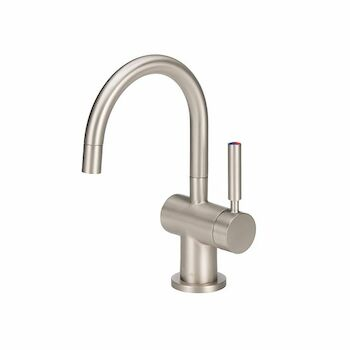INDULGE MODERN HOT/COOL FAUCET, Polished Nickel, large