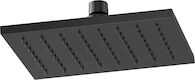 SIDERNA RECTANGULAR RAINCAN SHOWER HEAD, Matte Black, medium