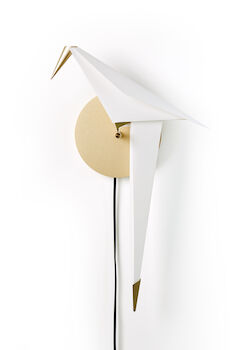 PERCH SMALL WALL LIGHT, Brass, large