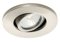 LOW VOLTAGE MINIATURE RECESSED TASK LIGHT, Brushed Nickel, medium