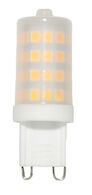 LED LIGHT BULB FROSTED 4W 120V 3000K E12 G9, , medium