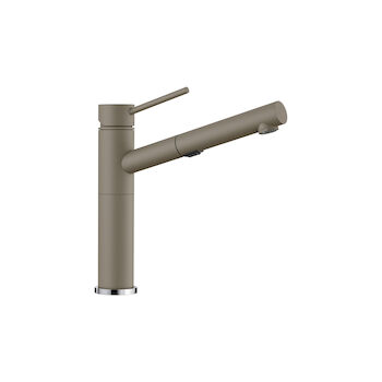 ALTA DUAL SPRAY PULL OUT FAUCET, Truffle, large