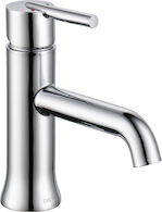 TRINSIC SINGLE HANDLE LAVATORY FAUCET LESS POP-UP, Chrome, medium