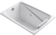 GREEK® 48 X 32 INCHES DROP IN WHIRLPOOL WITH HEATER WITHOUT JET TRIM, White, medium