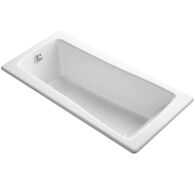 MAESTRO™ 66 X 32 INCHES DROP IN BATHTUB, White, medium
