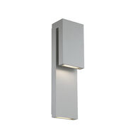 DOUBLE DOWN LED OUTDOOR WALL LIGHT, Graphite, medium