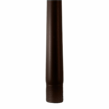 12-INCH CEILING FAN EXTENSION DOWNROD, Bronze, large