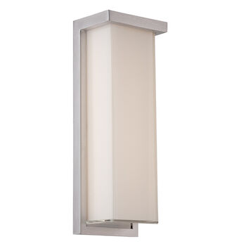 LEDGE 14-INCH 3000K LED WALL SCONCE LIGHT, WS-W1414, Brushed Aluminum, large